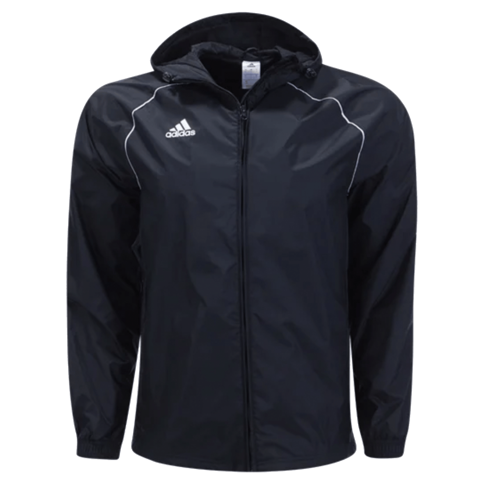 adidas Black Core Rain Jacket