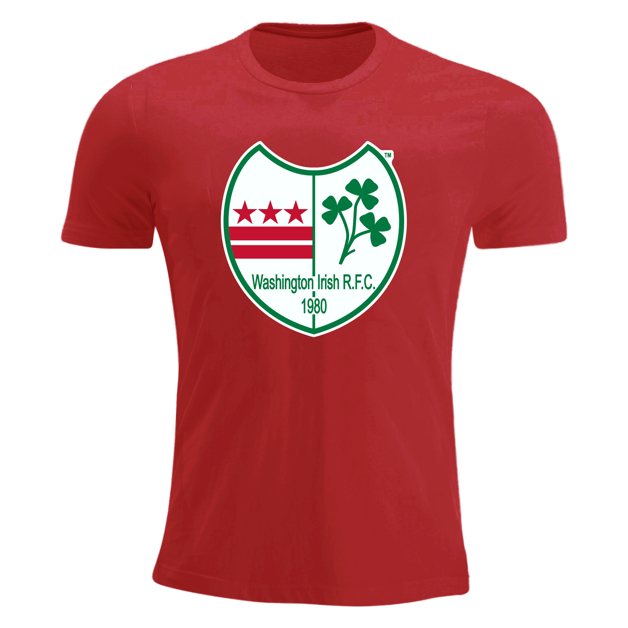 Washington Irish Rugby Youth Short Sleeve T-Shirt Red