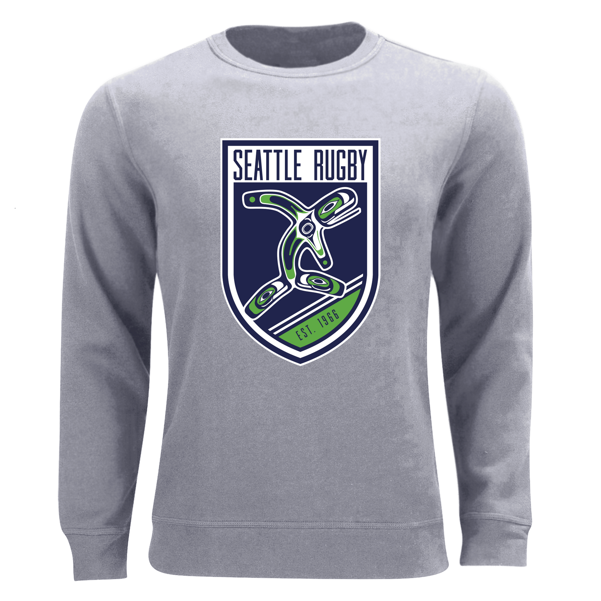 Seattle Rugby Club Sweatshirt Grey