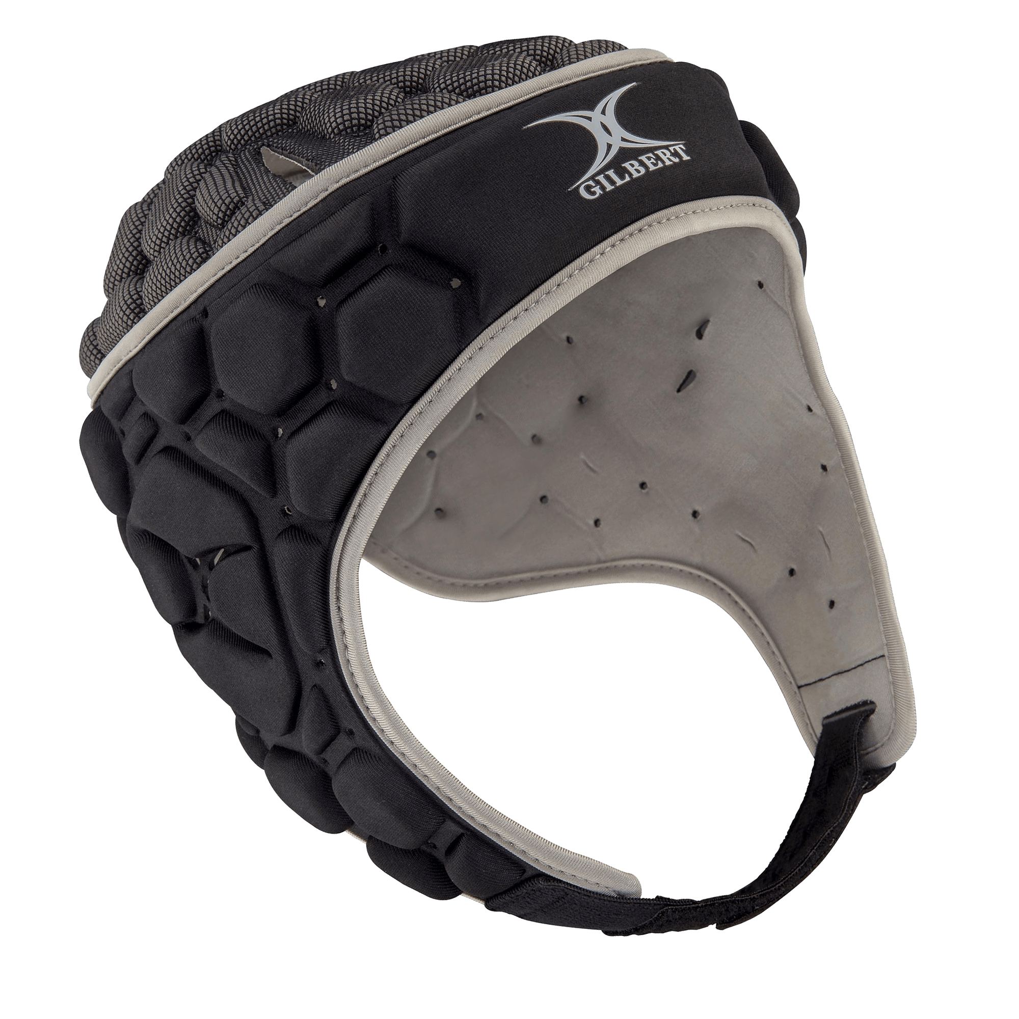 Gilbert Falcon 200 Scrum Cap Black/Silver