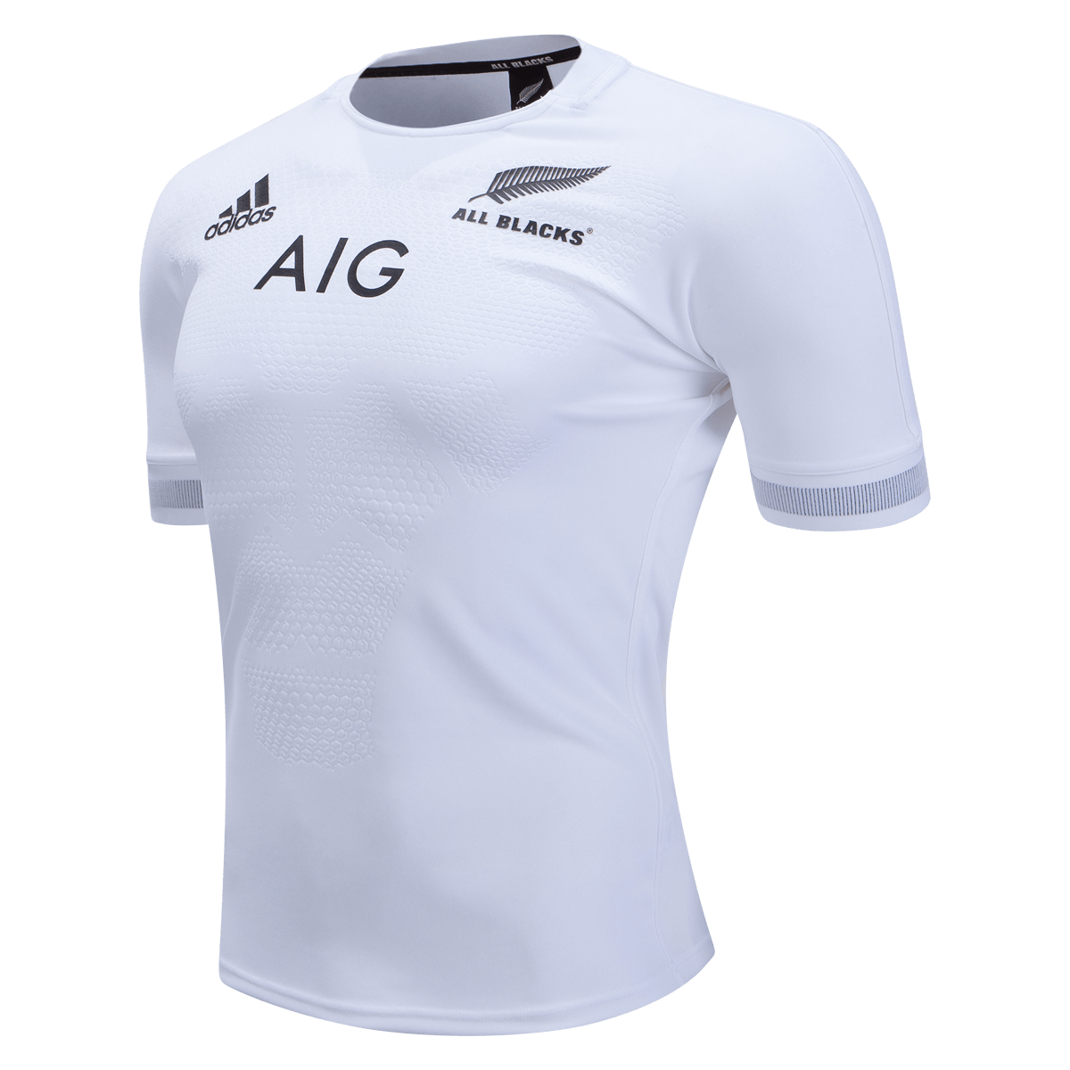 All Blacks Rugby Away Jersey New Zealand adidas White Shirt ...