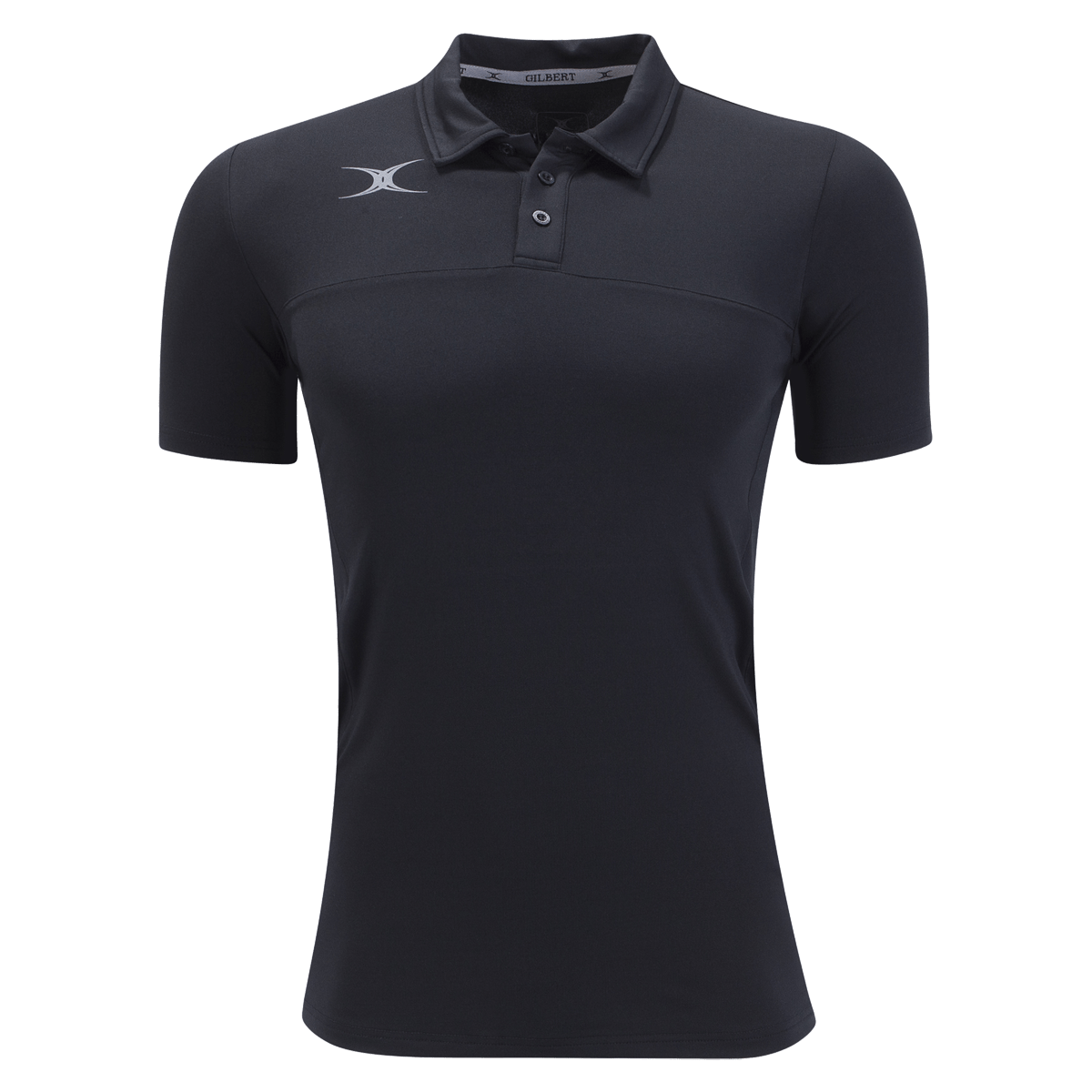 Gilbert Black Pro Tech Polo Shirt