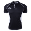 Gilbert Black/White Youth Xact V2 Jersey