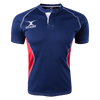 Gilbert Navy/Red Xact V2 Youth Jersey