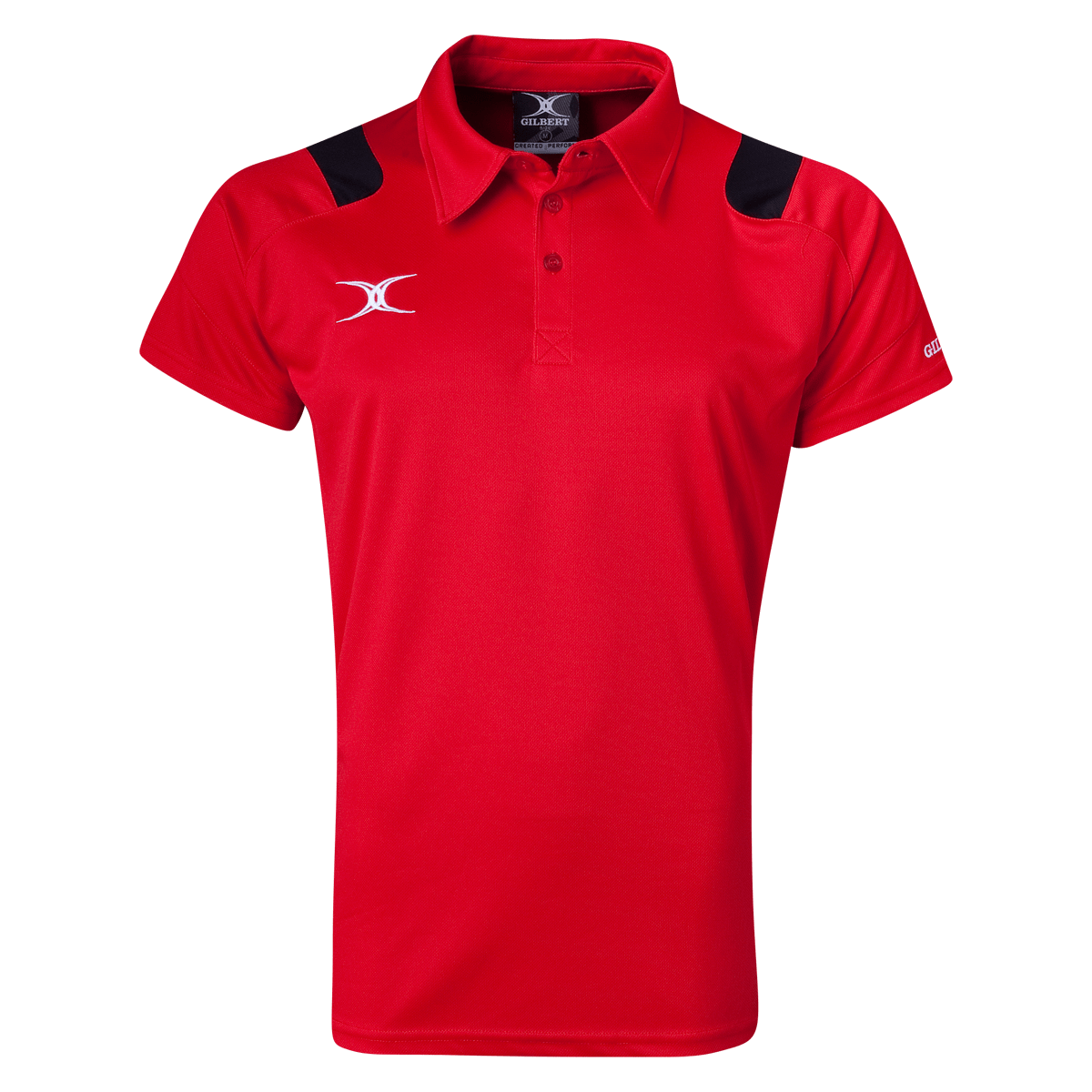 Gilbert Vapour Performance Polo Red