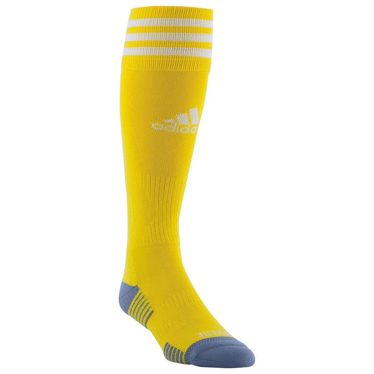 adidas Yellow Copa Zone Cushion IV Socks