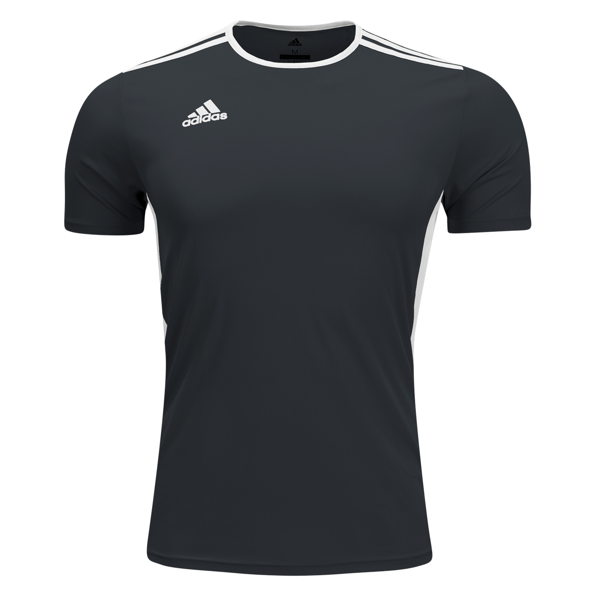 adidas Black/White Entrada Rugby Jersey