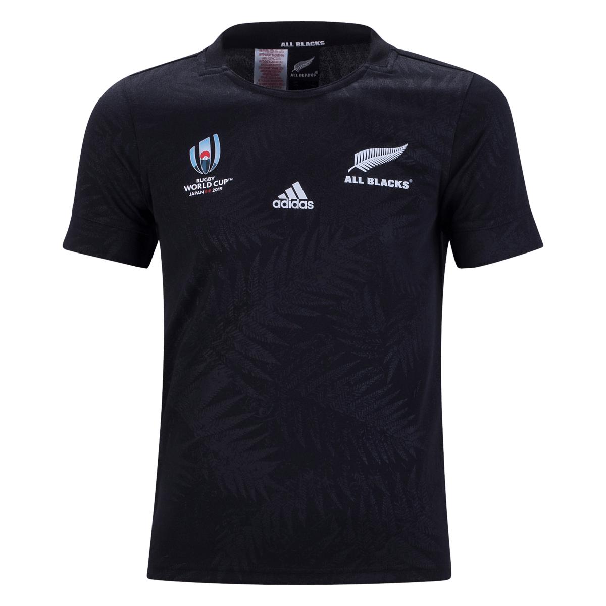 adidas All Blacks Rugby 19 Youth RWC Home Jersey