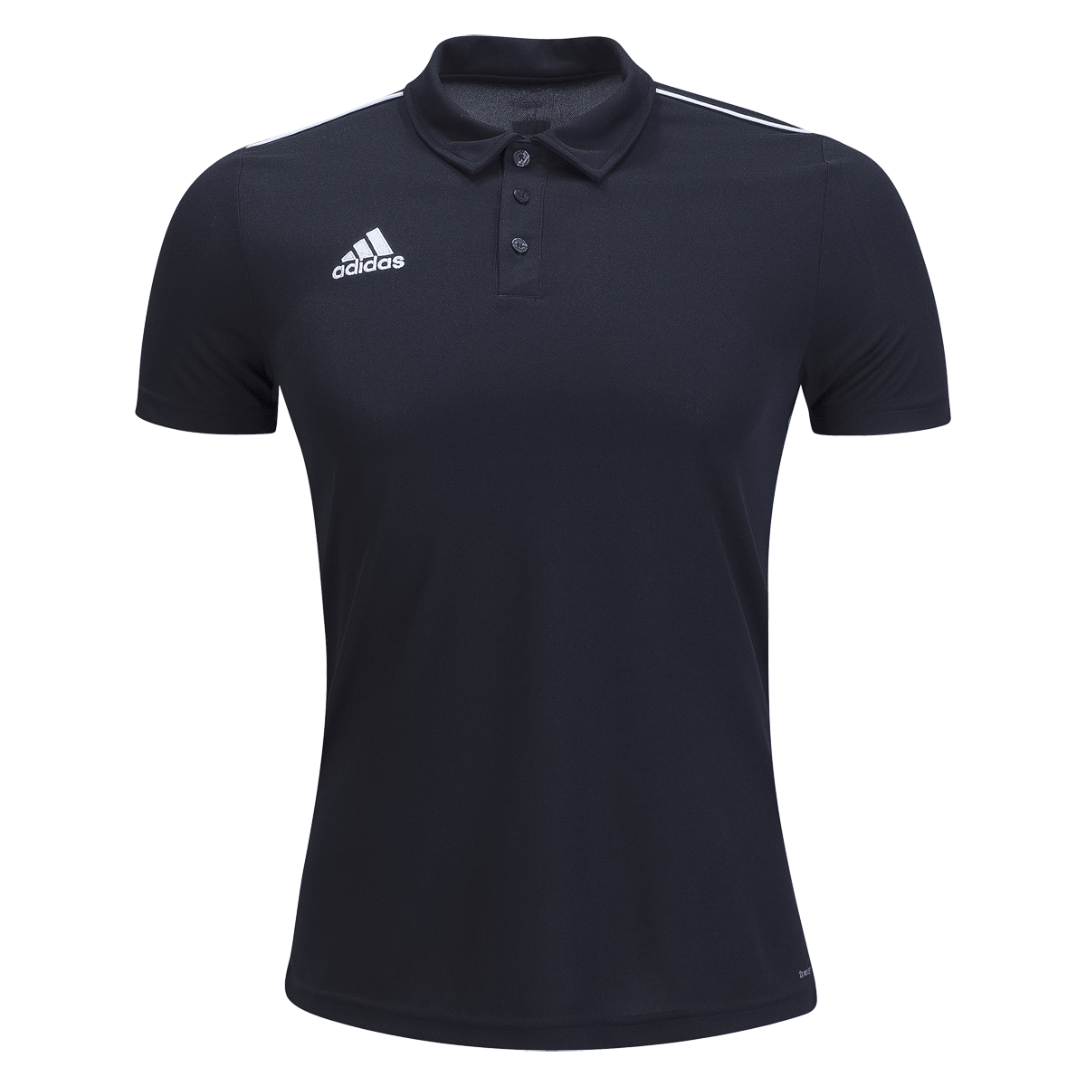 adidas black Core Rugby Polo
