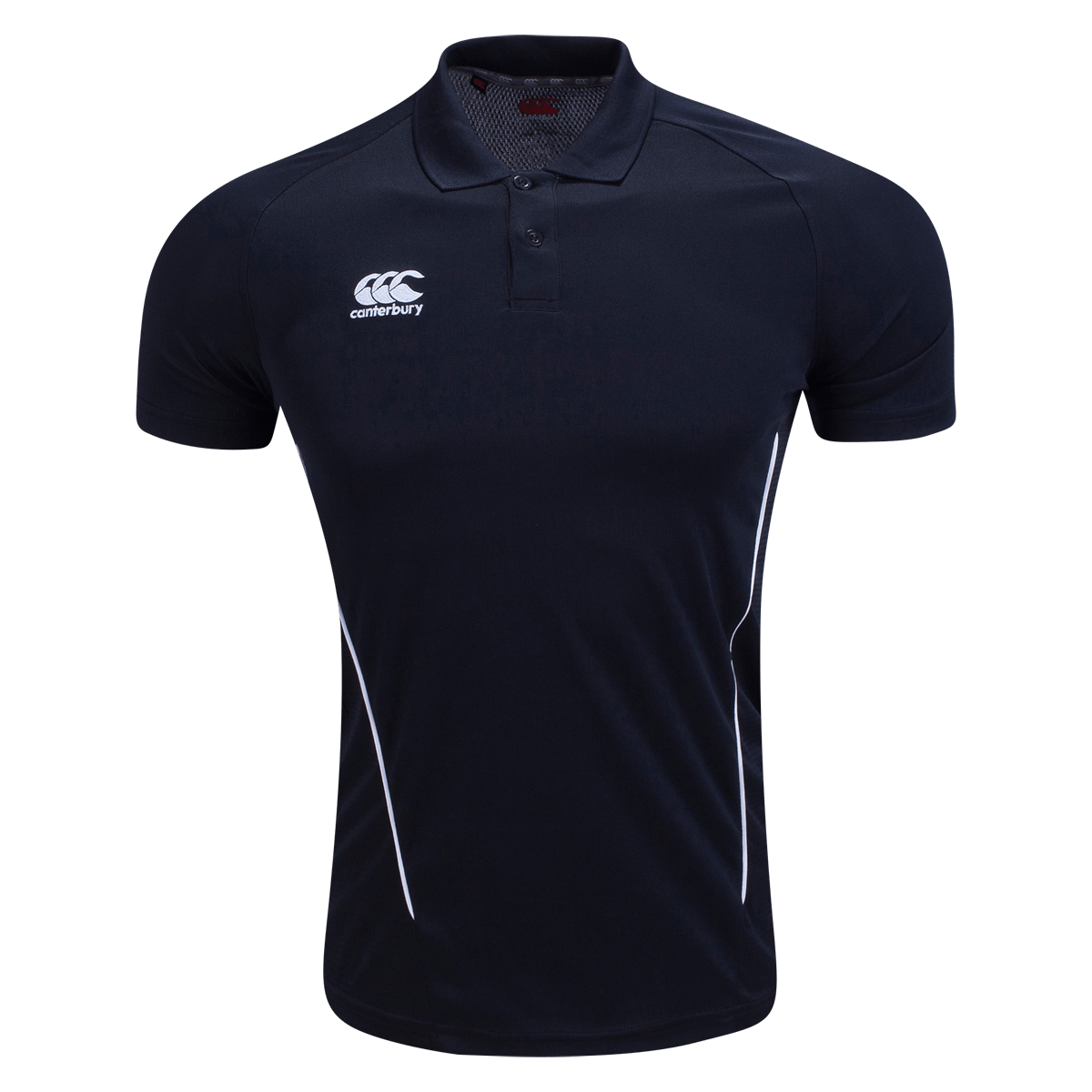 Canterbury Black Dry Polo