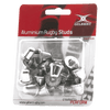 Gilbert Aluminum Replacement Rugby Studs in Blister Pack