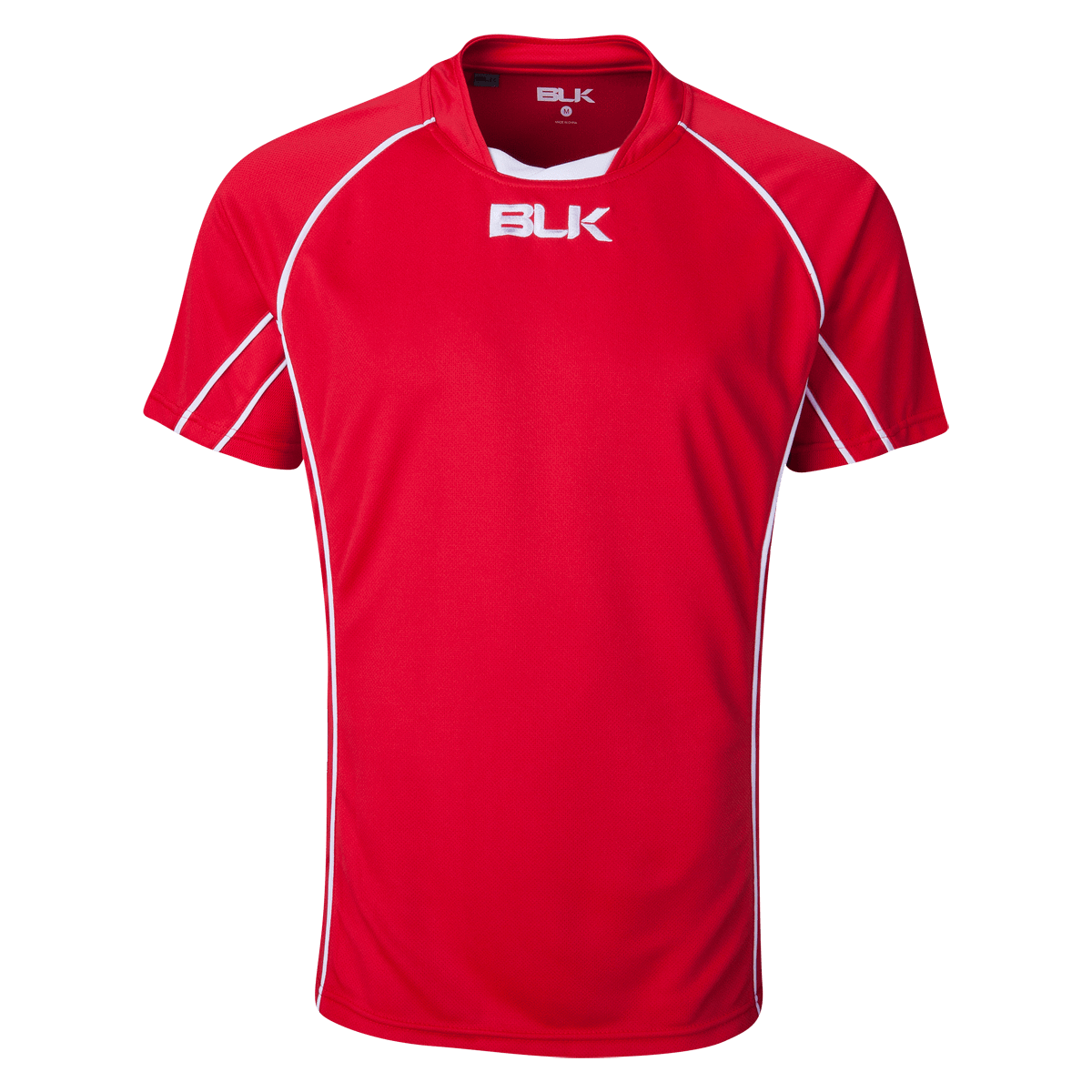 BLK Red Youth Icon Rugby Jersey