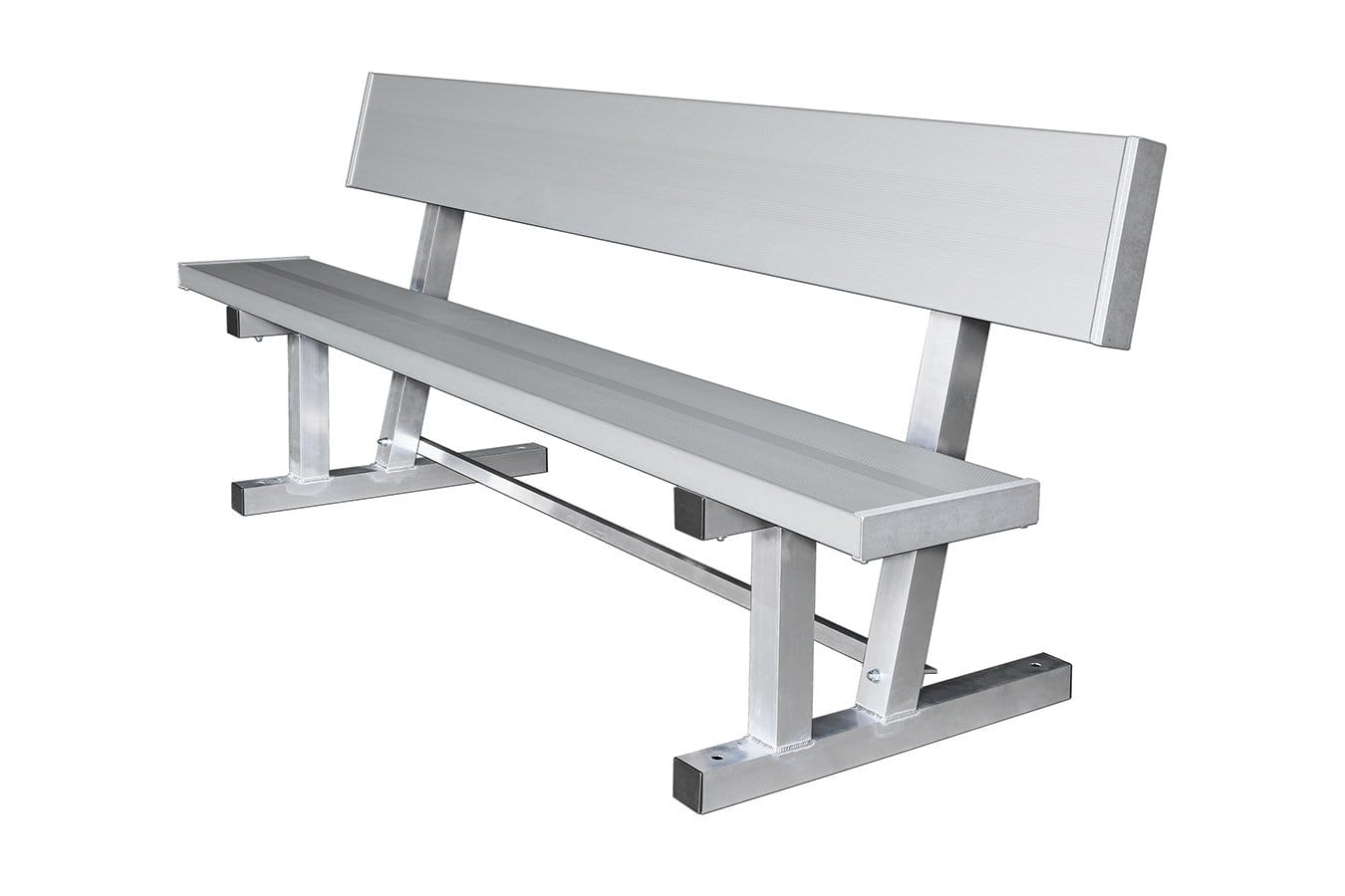 Aluminum Player Bench With Back