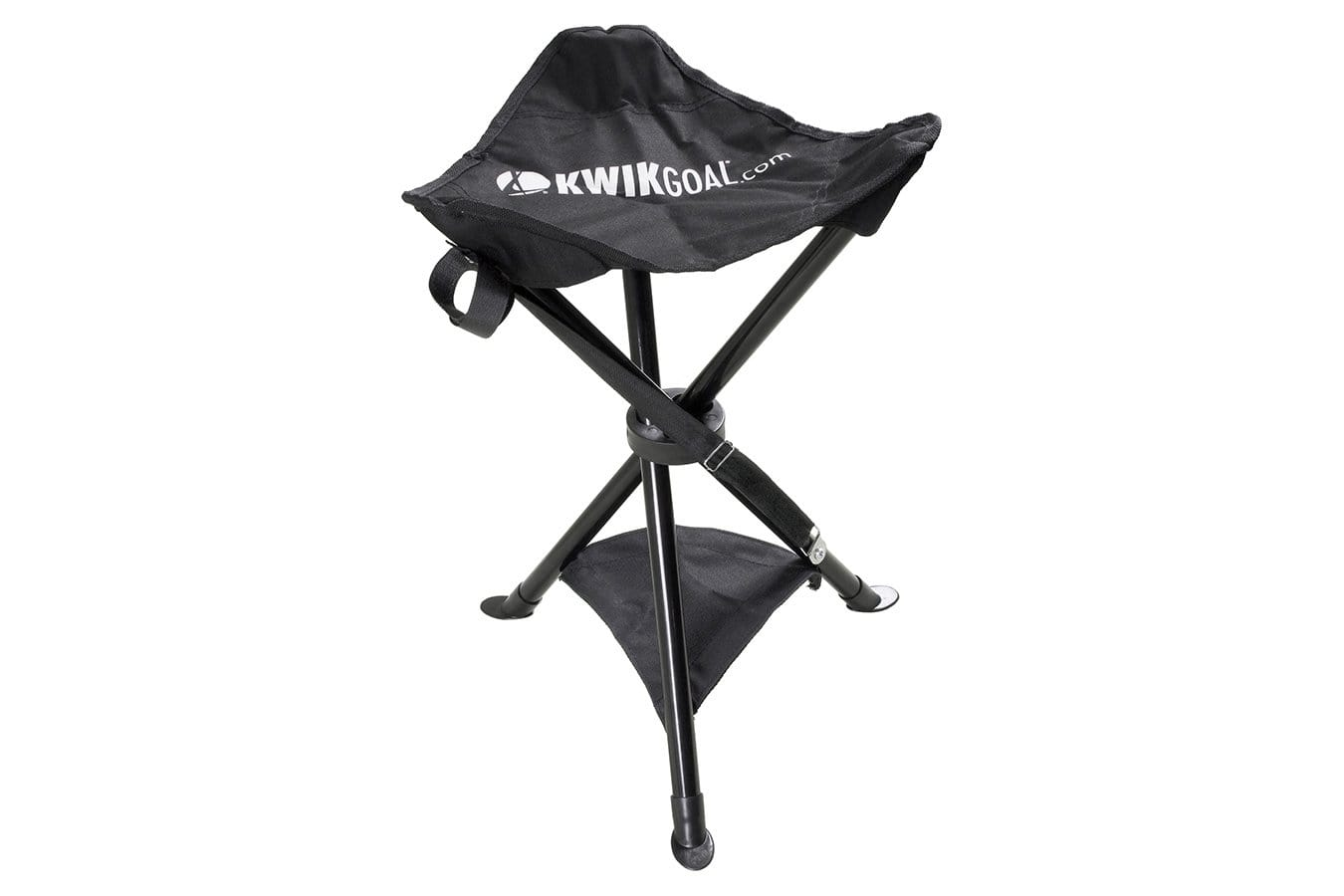 Woven Fabric Rugby Coach's Seat With Collapsible Steel Frame