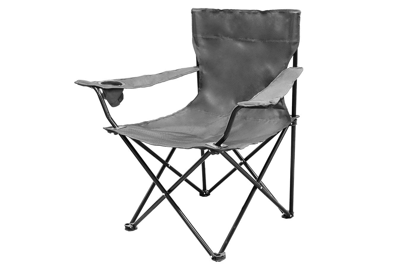 Single Rugby Sideline Chair Woven Fabric W/ Collapsible Steel Frame