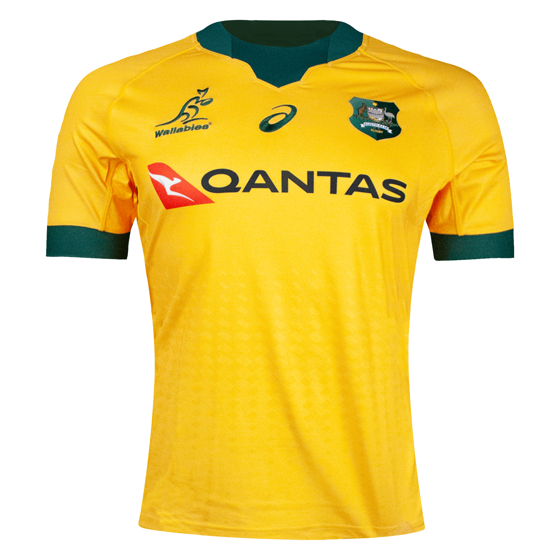 Asics Wallabies Home Rugby Jersey