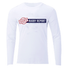 Goff Rugby Report White Off Field T-Shirt LS