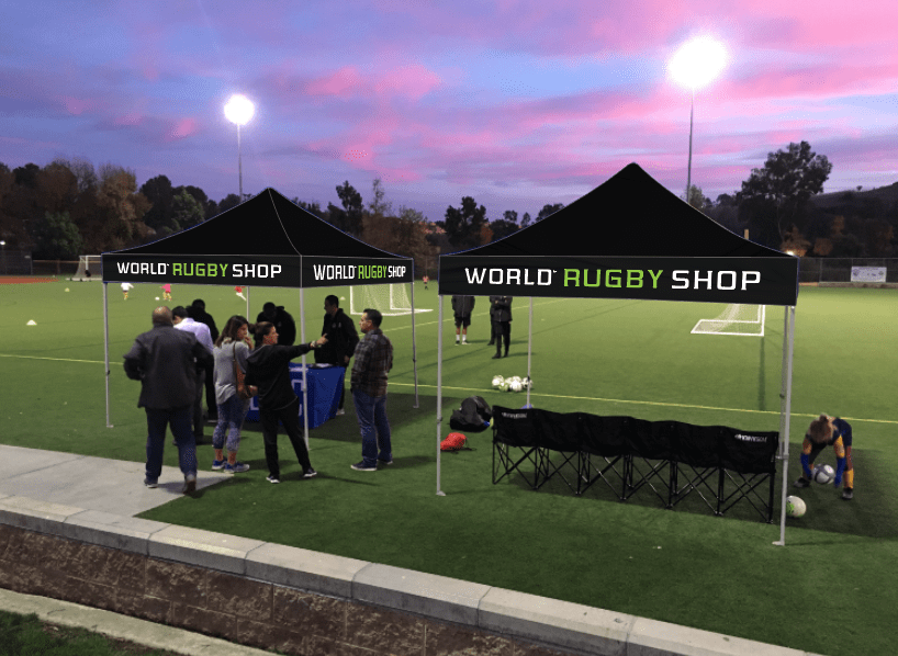 World Rugby Shop Black Sports Team Canopy