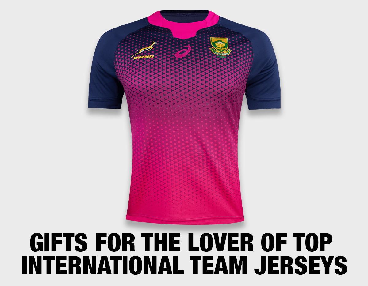 Gifts for the lover of top international team jerseys