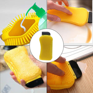 Multi-Functional Silicone Sponge