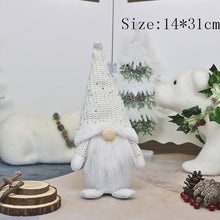 Load image into Gallery viewer, Christmas Tree Ornaments Faceless Doll New Year 2021