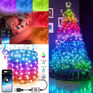 (Early Christmas 50%OFF) Christmas LED String Lights / Decorate Your Unique Christmas Tree