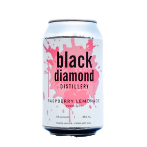 Black Diamond Distillery - Raspberry Lemonade Vodka Soda