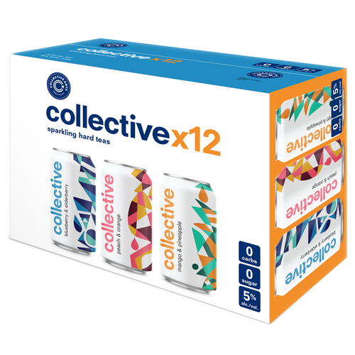 Collective Arts - Hard Teas Mixed 12 Pack