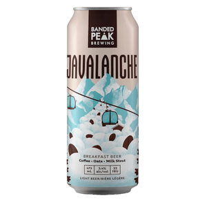 Javalanche - Oatmeal Coffee Milk Stout Breakfast Beer