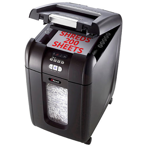 Rexel® Shredder Stack & Shred AUTO+200X@Free Delivery National Wide
