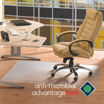 FLOORTEX CHAIRMAT ANTI-MICROBIAL HARD RECT 120X150CM@Free Delivery National Wide