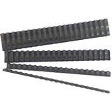 GBC BINDING COMB 6MM BLACK PK100@Free Delivery National Wide