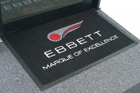 Cubic  Outdoor Inlayed Logo Mats for Wet areas @ free delivery