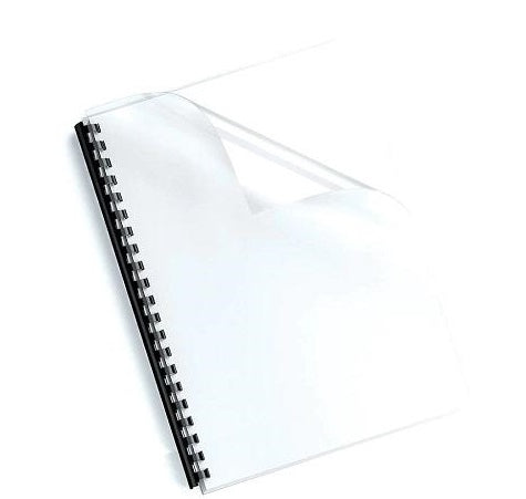 Fellowes Binding Covers A4 150mic Clear Pack 100