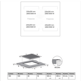 Midea 60cm Freezone Induction Cooktop MC-IF7222CCD