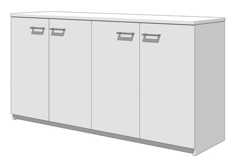 MASCOT Storage 4 Hinged doors@Free delivery