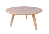 Oslo Coffee-table (round) - veneer@Free delivery