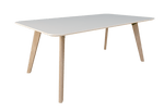 Oslo Meeting table - white top@Free delivery