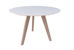 Oslo Meeting-table (round) - white top@Free delivery