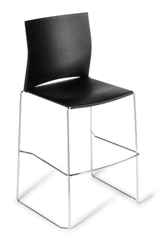Web  Chrome Frame Bar Stool  Free Delivery