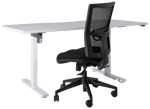 Electric sit/stand desk  Straight Desk 1600 & 1800w