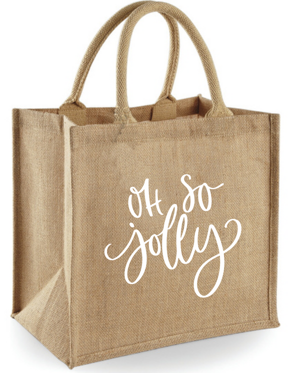 Jute Shopper Jolly