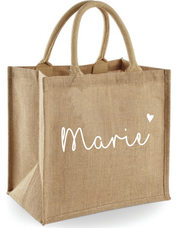 Jute Shopper Name *personalisiert*