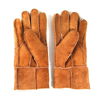 Sheepskin Gloves - Chestnut