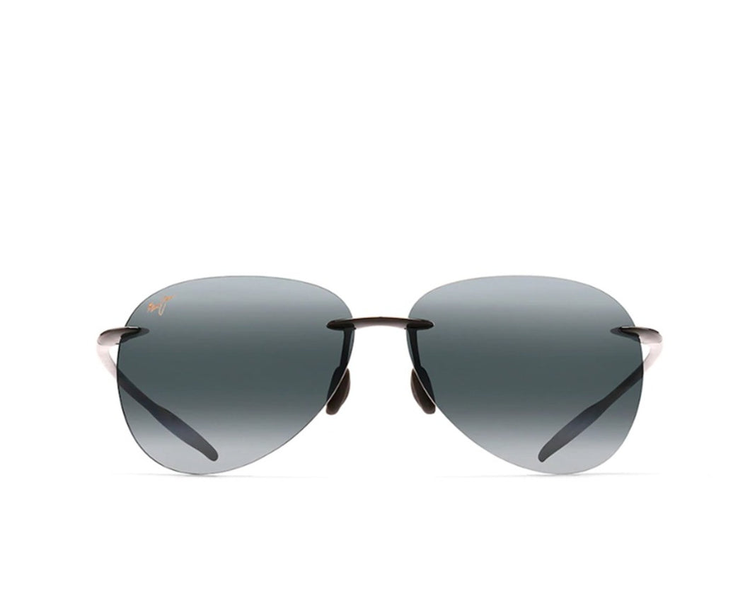 Maui Jim 421-02 Sugar Beach Gris Negro Brillante