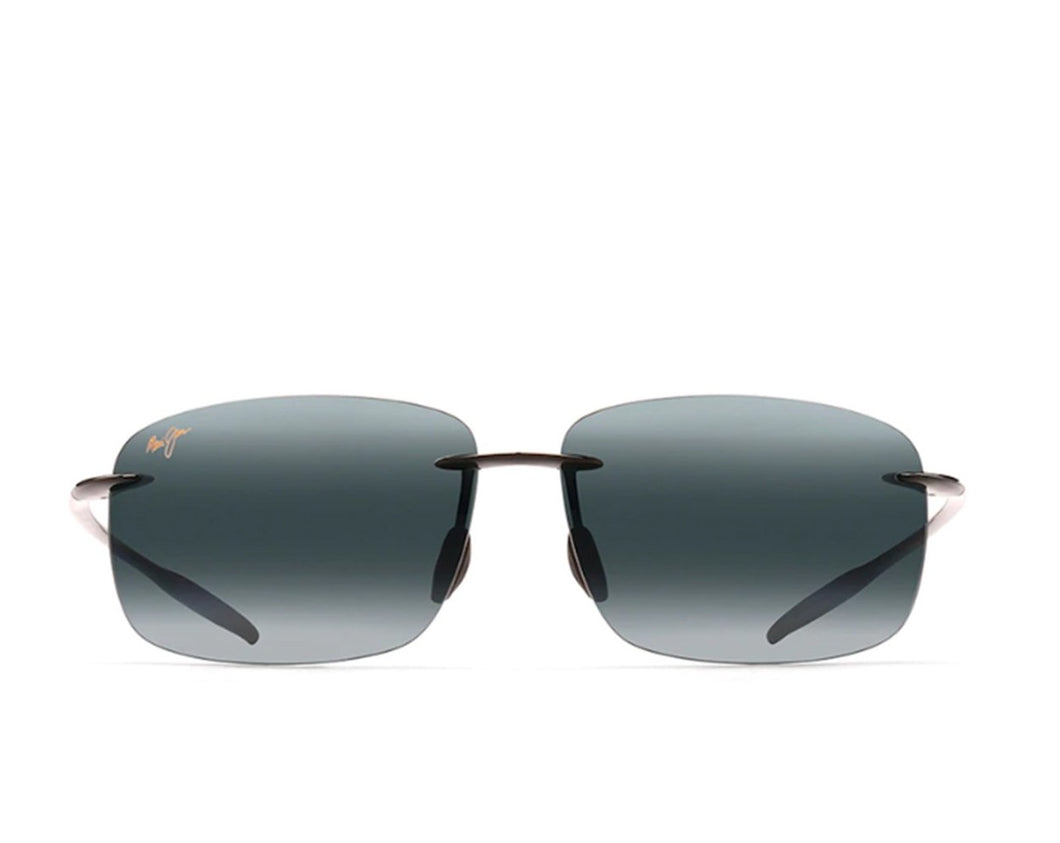 Maui Jim 422-02 Breakwall Gris Negro Brillante