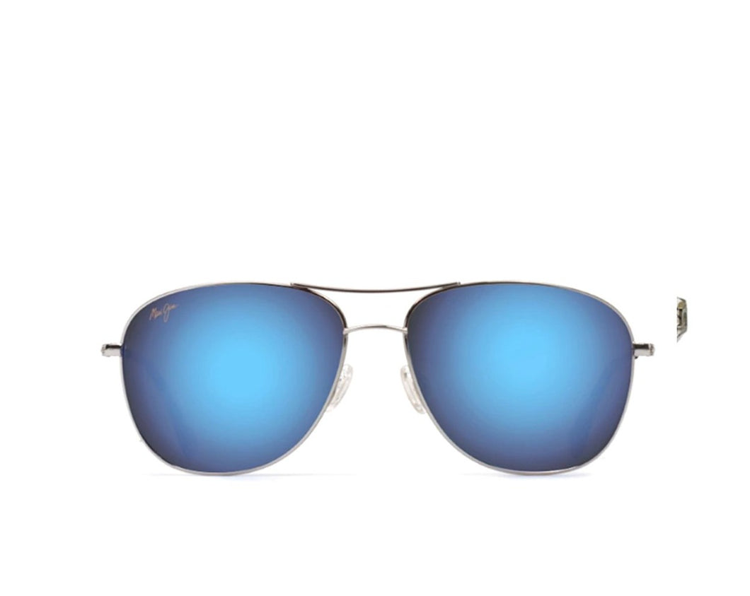 Maui Jim B247-17 Cliff House Blue Hawaii Silver