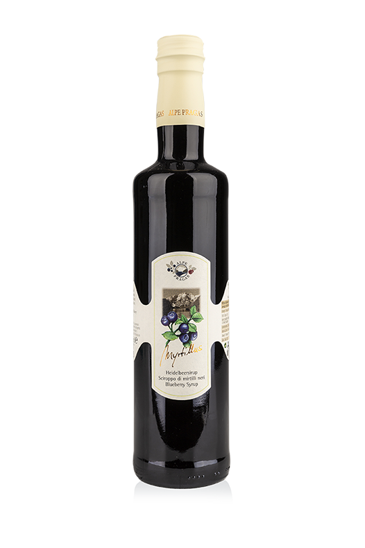 "Sciroppo di Mirtillo Nero ""Myrtillus"" - 500 ml"