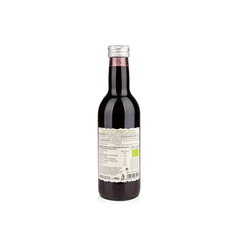 "Nettare di Mirtillo Nero ""Myrtillus"" BIO - 250 ml"