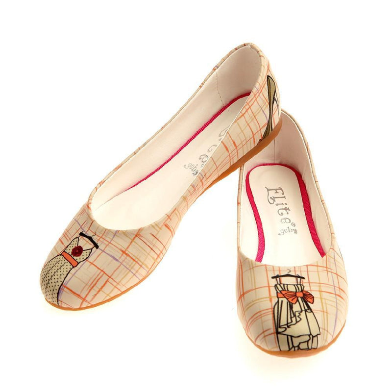 Fashion Boutique Ballerinas Shoes 1012